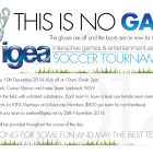 Revised date – IGEA Soccer Tournament 2014, Wednesday 10 December 2014