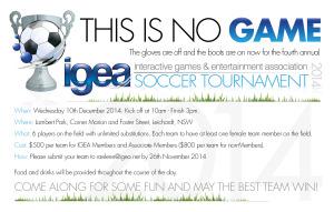 iGEA ST2012 E-invite