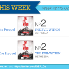 Top 10 Games charts for the week ended 19 October