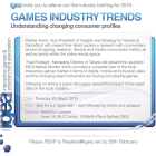 IGEA Industry Briefing:  Games Industry Trends – Understanding changing consumer profiles