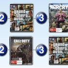 Top 10 games charts for the week ended 1 Feb 2015