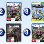 Top 10 games charts for the week ended 8 Feb 2015