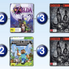 Top 10 games charts for the week ended 22 Feb