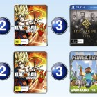 Top 10 games charts for the week ended 1 March