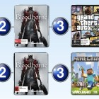 Top 10 games charts for the week ended 5 April 2015