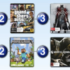 Top 10 games charts for the week ended 3 May 2015