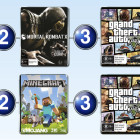 The top 10 games charts for the week ended 10 May 2015