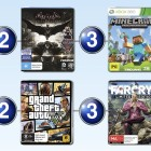 Top 10 games charts for the week ended 16 August 2015