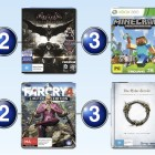 Top 10 games charts for the week ended 23 August 2015
