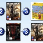 Top 10 games charts for the week ended 13 September 2015