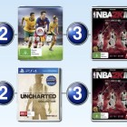 Top 10 games charts for the week ended 11 October 2015