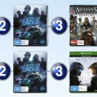 Top 10 games charts for the week ended 8 November 2015