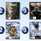 Top 10 games charts for the week ended 6 December 2015