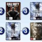 Top 10 games charts for the week ended 13 December 2015