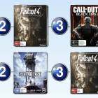 Top 10 games charts for the week ended 29 November 2015