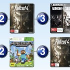 Top 10 games charts for the week ended 10 January 2016
