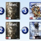 Top 10 games charts for the week ended 3 January 2016
