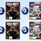 Top 10 games charts for the week ended 7 February 2016