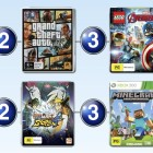 Top 10 games charts for the week ended 14 February 2016