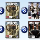 Top 10 games charts for the week ended 3 April 2016