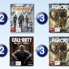 Top 10 games charts for the week ended 10 April 2016
