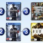 Top 10 games charts for the week ended 5 June 2016