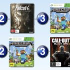 Top 10 games charts for the week ended 24 July 2016