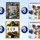 Top 10 games charts for the week ended 26 June 2016