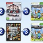 The top 10 games charts for the week ended 21 August 2016