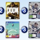 Top 10 games charts for the week ended 4 September 2016