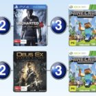 Top 10 games charts for the week ended 11 September 2016