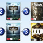 Top 10 games charts for the week ended 18 September 2016