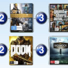 Top 10 games charts for the week ended 25 September 2016