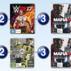 Top 10 games charts for the week ended 16 October 2016