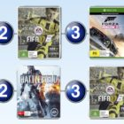 Top 10 games charts for the week ended 23 October 2016