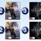Top 10 games charts for the week ended 6 November 2016