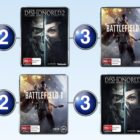 Top 10 games charts for the week ended 13 November 2016
