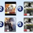 Top 10 games charts for the week ended 4 December 2016