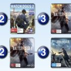 Top 10 games charts for the week ended 18 December 2016