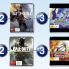 Top 10 games charts for the week ended 27 November 2016