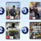 Top 10 games charts for the final week of 2016