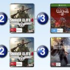 The top 10 games charts for the week ended 19 February 2017