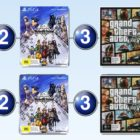 Top 10 games charts for the week ended 29 January 2017