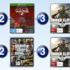 Top 10 games charts for the week ended 26 Feb 2017
