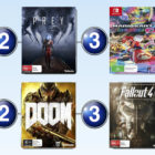 Top 10 games charts for the week ended 14 May 2017
