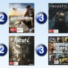 Top 10 games charts for the week ended 4 June 2017