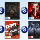 Top 10 games charts for the week ended 11 June 2017