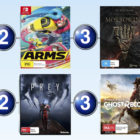 Top 10 games for the week ended 18 June 2017