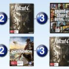 Top 10 games charts for the week ended 25 June 2017
