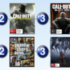 Top 10 games charts for the week ended 2 July 2017